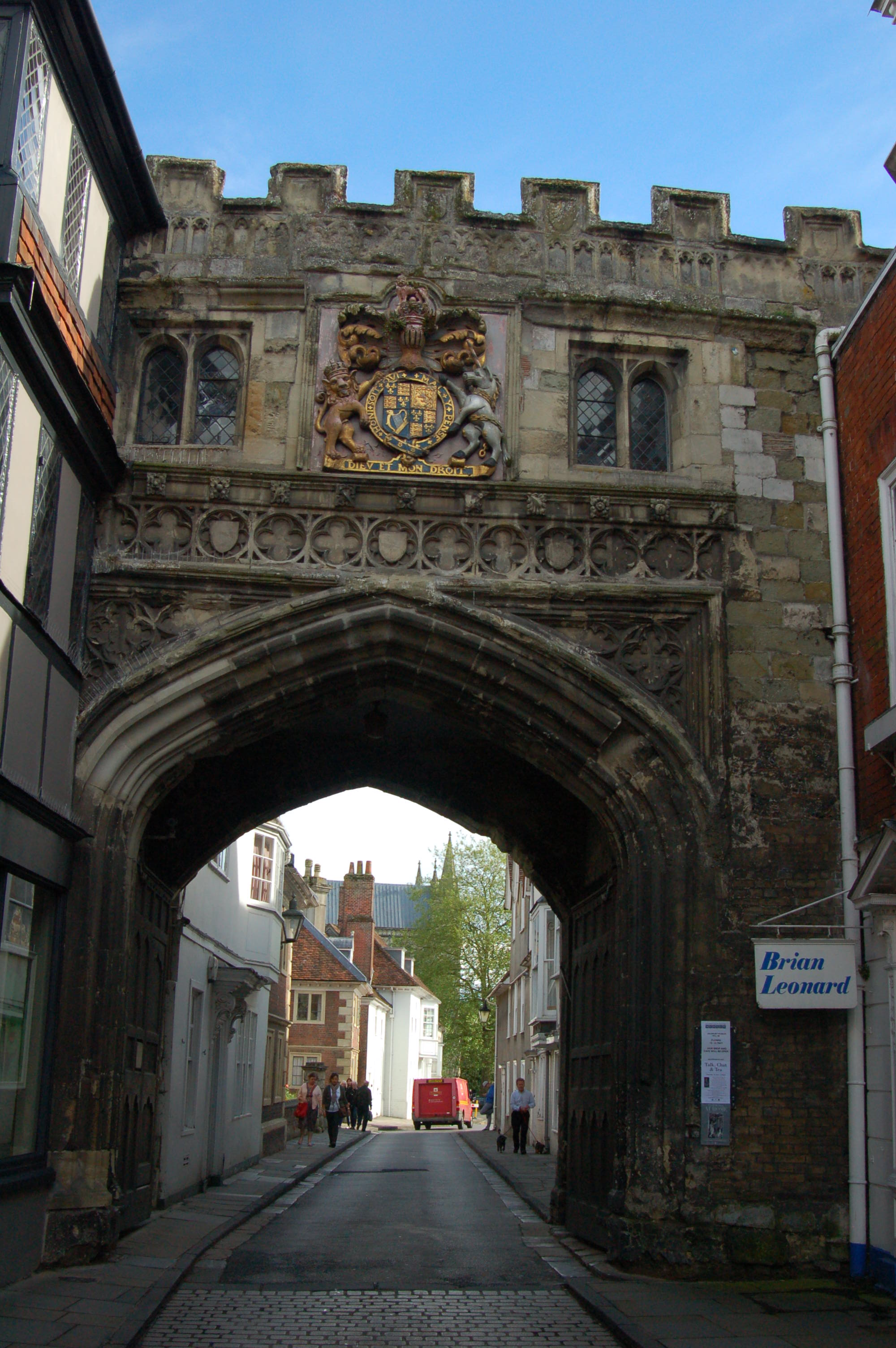 Medieval Entrance to Salisbury