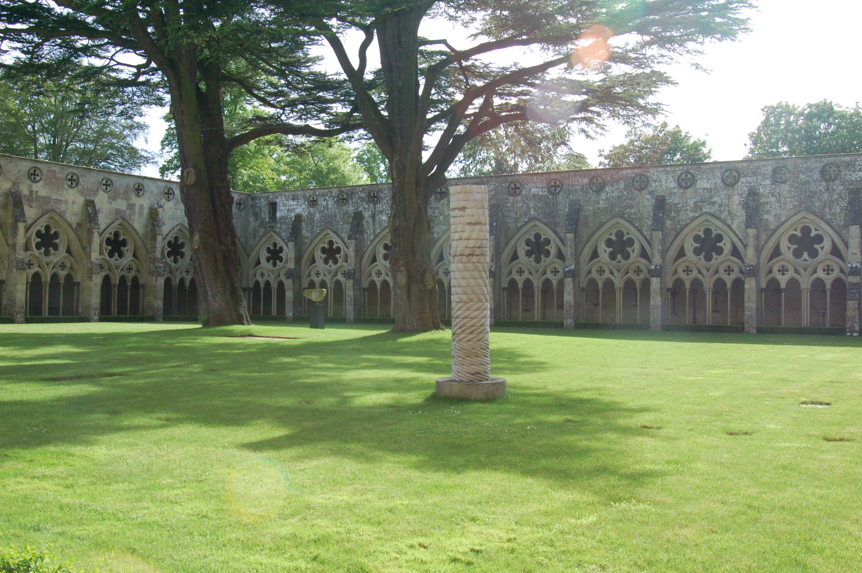 Salisbury Cathedral Courtyard