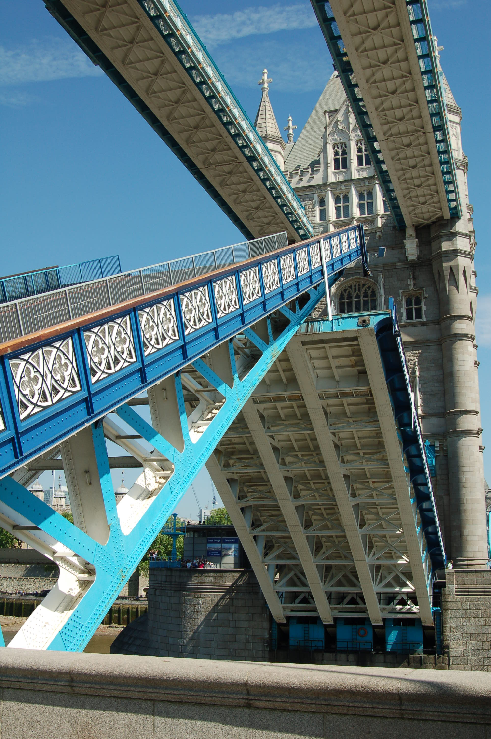 Detail of the Tower Bridge Opening
