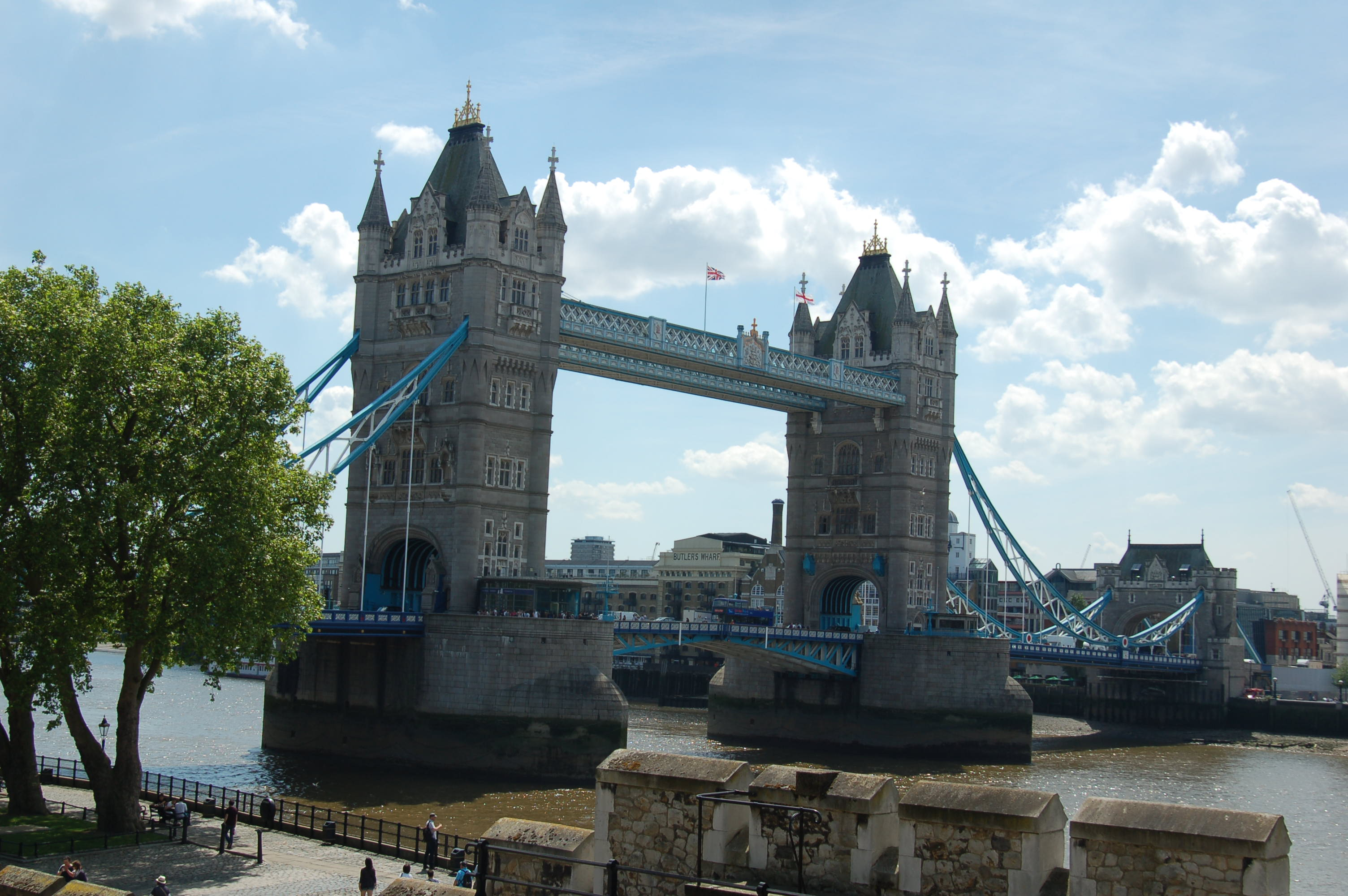 View of the Tower Bridge