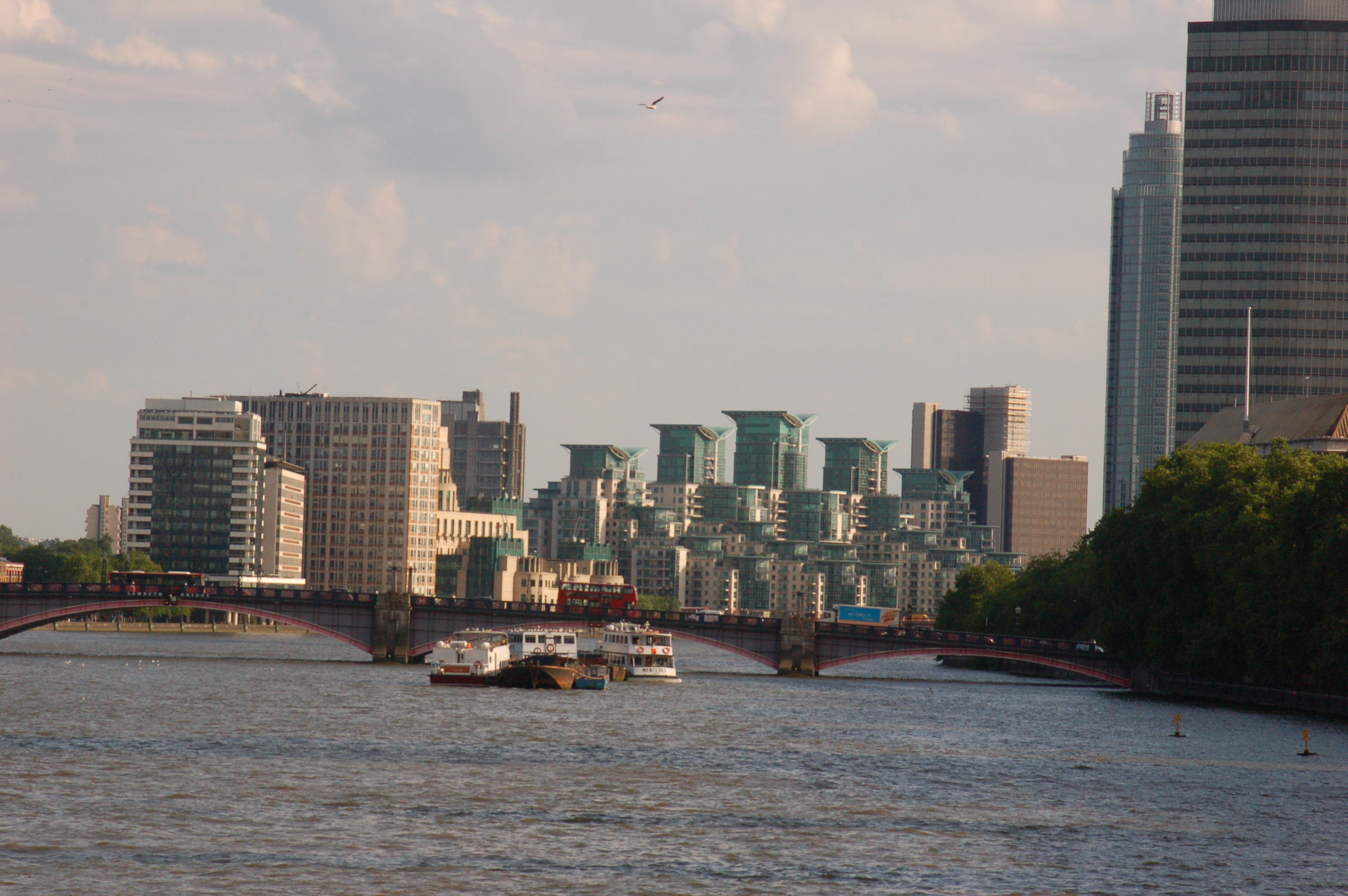 Looking South on the Thames River