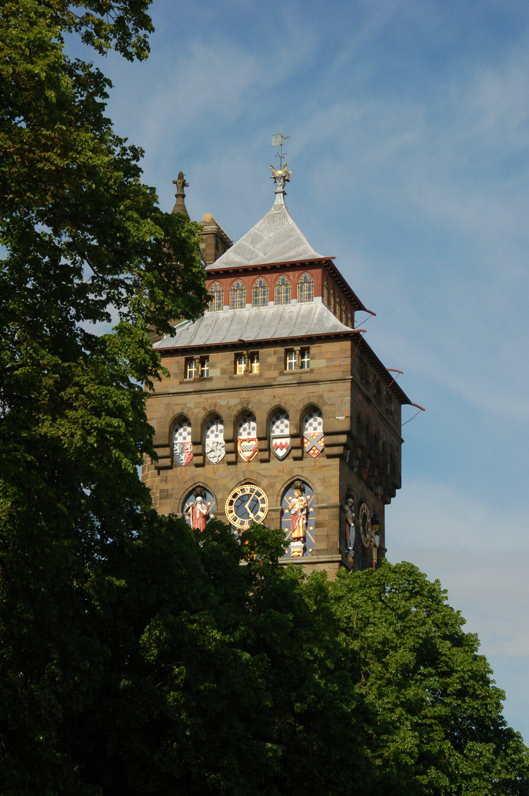 Bell Tower of Cardiff Castle