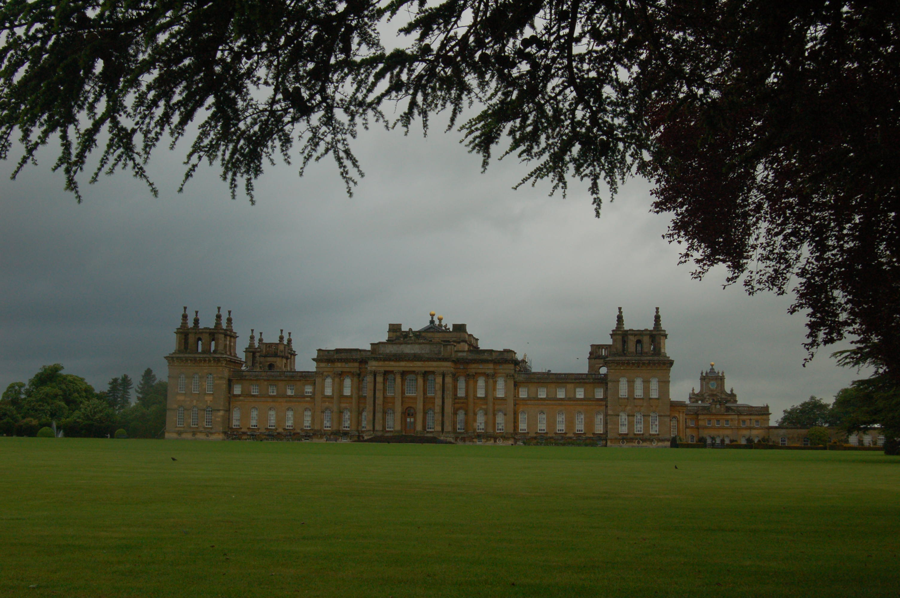 The Great Lawn of Blenheim Palace