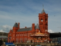 Cardiff Harbor Customs Building