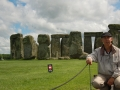 Ron at Stonehenge