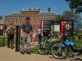 Bicycles in Front of Kensington Palace