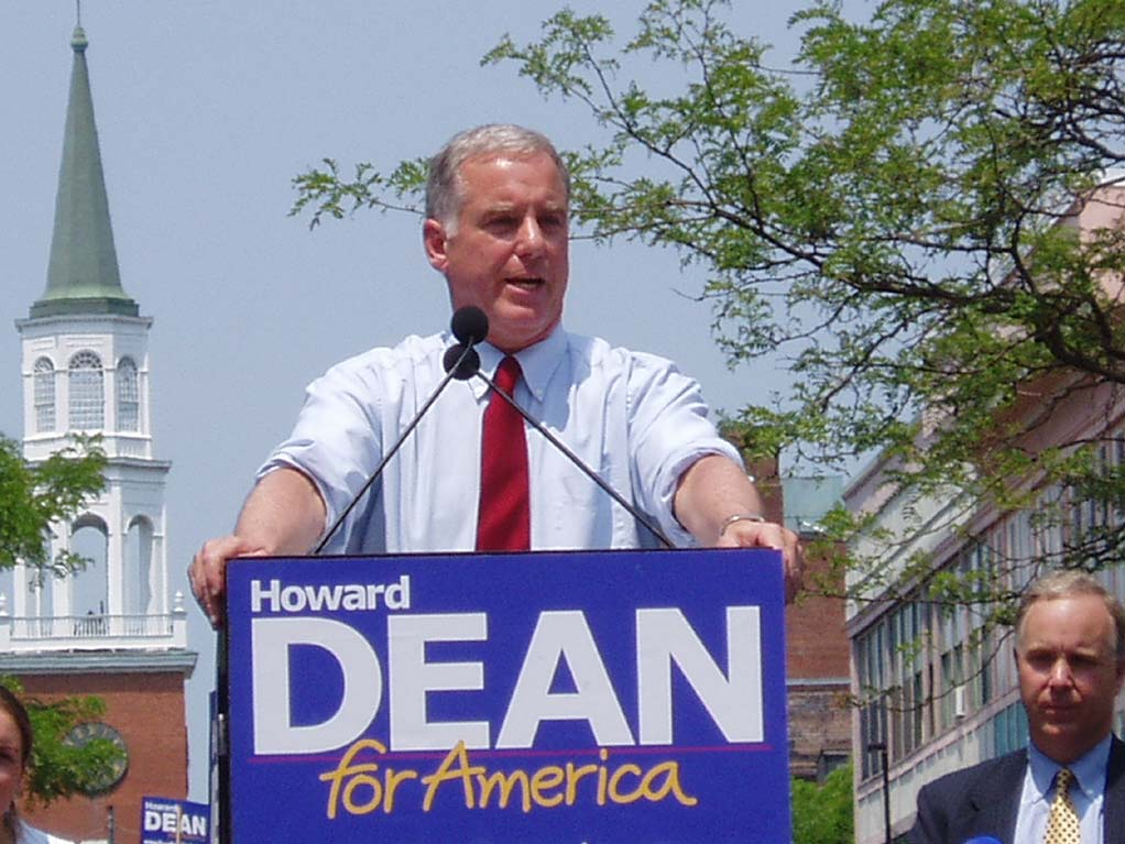 Howard Dean For America - File Photo