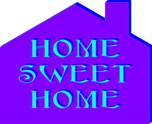 Home Sweet Home - image of a house