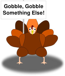 Happy Thanksgiving turkey image