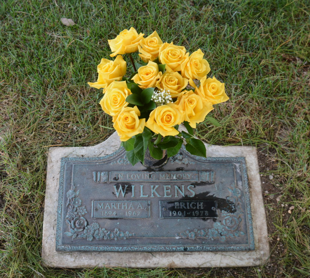 Marker for Martha and Erich Wilkens