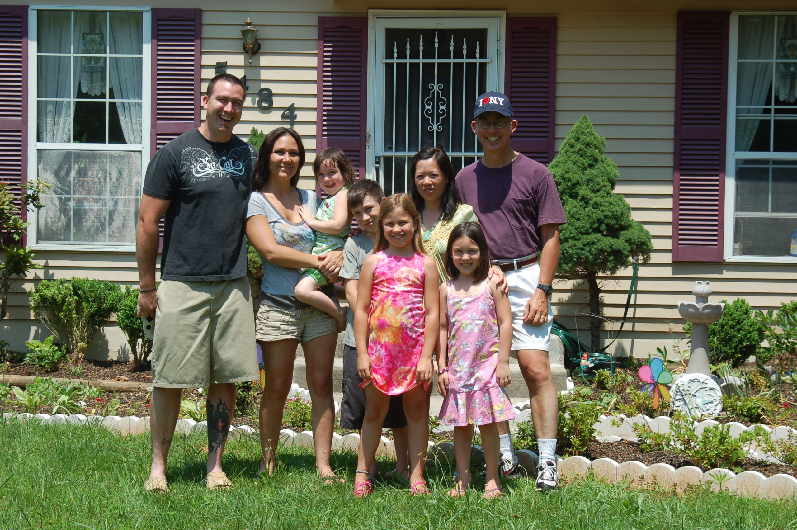 Terry and Summer Torrence and Family, Woodbridge, Virginia
