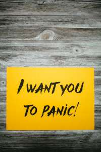 I Want You To Panic!