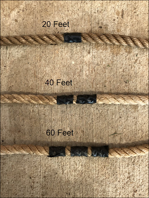 Anchor Line Tape Markings